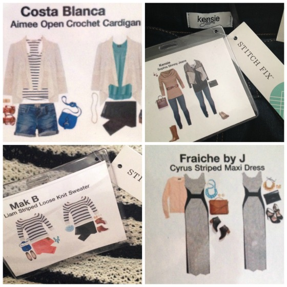 StitchFix Cards Collage